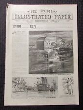1895 Aug 31 THE PENNY Illustrated Paper #1788 VG Great Northern's Record Trip