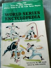 World Series Encyclopedia 1903-1960 (1961 PB) Mel Allen Game by Game Stats