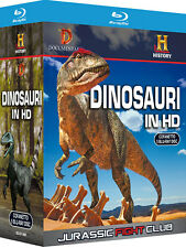 Dinosauri In HD - Jurassic Fight Club Cof. 5 Blu-ray History Channel T-rex