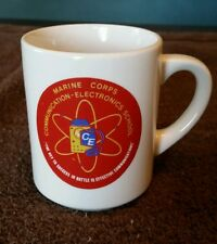 USMC Marine Corps Communication-Electronics School mug vintage MCCES