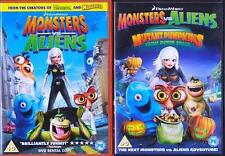 MONSTERS Vs [Versus] ALIENS AND Vs MUTANT PUMPKINS Animated Comedy DVD *EXC*
