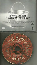 Talking Heads DAVID BYRNE back in the Box RARE EDIT 1994 USA PROMO DJ CD Single