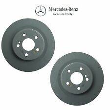 Mercedes W218 CLS550 W207 W212 E550 Pair Set of Rear Disc Brake Rotors Genuine