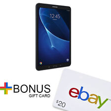 """Samsung Galaxy Tab A 10.1"""" 16GB Tablet W/ 32GB MicroSD Card + $20 eBay Gift Card"""