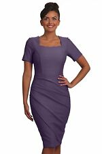 Seed Kensington Dress Dusty Lilac Size XL (UK 14-16) Box4554 Q