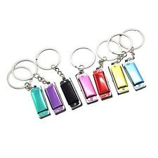 Stainless Steel Mini Four Tones Harmonica Key Ring Key Chain Keyring Keychain