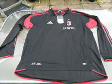 AC MILAN PLAYER ISSUE TRAINING SHIRT 2004-05 L/S XL MENS BRAND NEW TAGGED