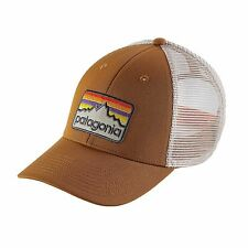 Patagonia Line Logo Badge LoPro Trucker Hat Bear Brown | 38181-BRBN