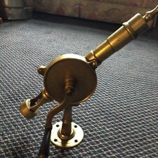 Antique Eclipse Brass Bar Top Corkscrew