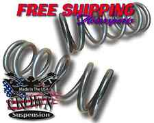 "1965-1987 Chevrolet GMC C10 C15 3"" Lowering Drop Coils Springs Front Crown Kit"