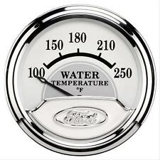 "FORD RACING AUTOMETER MASTERPIECE 2 1/16"" WATER TEMPERATURE GAUGE  880353"