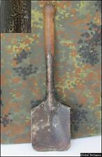 WWI WWII 1912 ORIGINAL GERMAN SERRATED SAW EDGE TRENCH SHOVEL MARKED