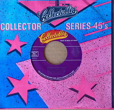 "MARVELETTES - LOCKING UP MY HEART b/w FOREVER - COLLECTABLES 45 - ""HIT SERIES"""