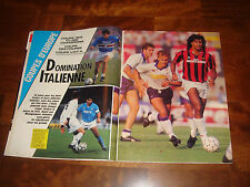 FRENCH ONZE MONDIAL MAGAZINE     APRIL 1989    SPECIAL EURO CUPS 1988-1989