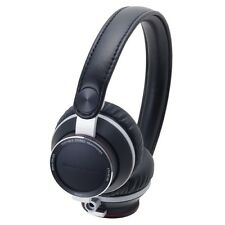 AUDIO-TECHNICA ATH-RE700 BK High-Fidelity Audiophile On-Ear Headphone