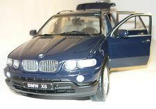 KYOSHO 08521db BMW x5 4.4i Blu Scuro Nuovo & Ovp 1/18