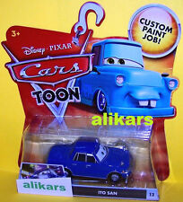 "T"" - ITO SAN - #13 Disney Cars Mattel Toons Tokyo Mater's Tall Tales Toon autos"