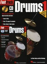 Fast Track Drums Method Starter Pack Learn Play Beginner Music Book CD & DVD