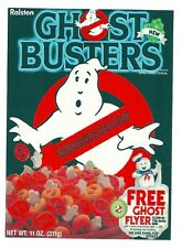 GHOST BUSTERS Cereal Box Retro Vintage HQ  Fridge Magnet *02
