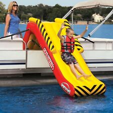 SportsStuff SPILLWAY Inflatable Pontoon Boat Slide - 58-1350
