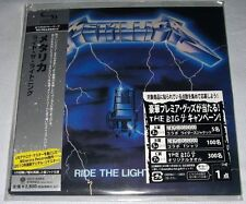 Metallica - Ride the Lightning (1984) JAPAN Mini LP SHM-CD (2010) NEW