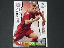 KROOS ROOKIE BAYERN MUNICH UEFA PANINI FOOTBALL CARD CHAMPIONS LEAGUE 2011 2012