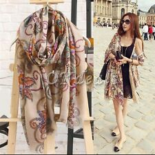 Best Womens Long Soft Chiffon Scarf Wrap Large Silk Winter Shawl Stole Scarves.