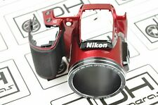 Nikon Coolpix L840 Front Cover With Rubber Red Replacement Repair DH5801