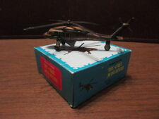 Vintage MINIATURE Die-Cast Pencil Sharpener - Military - Helicopter - IOB