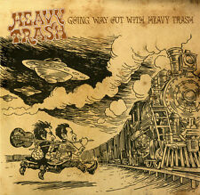 HEAVY TRASH GOING WAY OUT WITH HEAVY TRASH YEP ROC RECORDS 2 LP VINYLE NEUF NEW