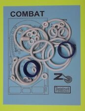 1977 Zaccaria Combat pinball rubber ring kit
