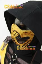 Mortal Kombat X Scorpion Cosplay Only mask yellow