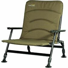 Wychwood Solace Padded Back Comforter Low Seat Mattress Foldable Fishing Chair