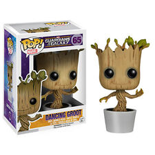 NIB Guardians of the Galaxy Dancing Groot Pop! Vinyl Bobble Head Figure