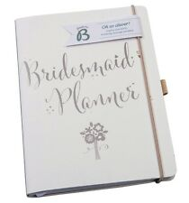 Busy B Luxury BRIDESMAID WEDDING PLANNER BOOK Journal/Notebook/Organiser for Hen