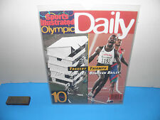 1996 Summer Olympics Atlanta Sports Illustrated Daily Day 10 Bomb Blast Edition