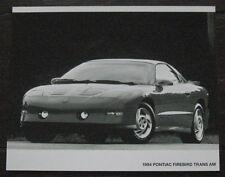 1994 Original Pontiac Firebird Trans Am Press Photo