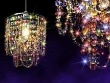 Creative Chandelier Gypsy Multicoloured Crystal Ceiling Lamp Pendant Light Shade