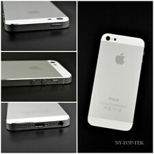 White Complete Housing Back Battery Cover+Mid Frame Assembly for iPhone 5 5G OEM