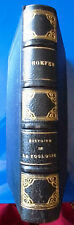 HISTOIRE DE LA ZOOLOGIE PAR FERDINAND HOEFER.Libr.Hachette et Cie.Paris. EA 1873