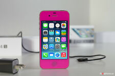 iPhone 4s-16GB (Gsm Unlocked) Custom Rose Straight talk Metro pcs Cricket