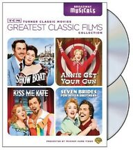TCM GREATEST CLASSIC FILMS: BROADWAY MUSICALS (Show Boat, Annie Get Your Gun, K