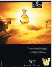 Publicité Advertising 1991 Parfum sacré de caron