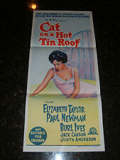 CAT ON A HOT TIN ROOF R-1966 Australian Daybill, C8.5 Very Fine/Near Mint