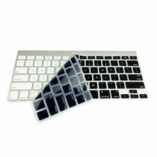 Negro Impermeable Teclado Silicona Funda Para Apple Macbook Pro MAC Aire 13