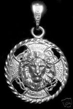 Big HUGE HEAVY Saint MARK Matthew John LION sterling silver CHARM Venice Jewelry