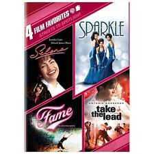 Streets to Spotlight 4 Film Favorites DVD Selena, Sparkle, Fame, Take the Lead