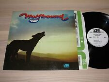 WOLFGANG SCHMID PROMO LP - WOLFHOUND / 1975 ALEMÁN ATLANTIC SAMPLE PRESS in MINT