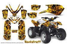 POLARIS OUTLAW 50 PREDATOR 50 2005-2012 GRAPHICS KIT CREATORX BACKDRAFT Y