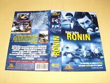 """JAQUETTE VHS """"Ronin"""" Robert De Niro Jean Reno"""